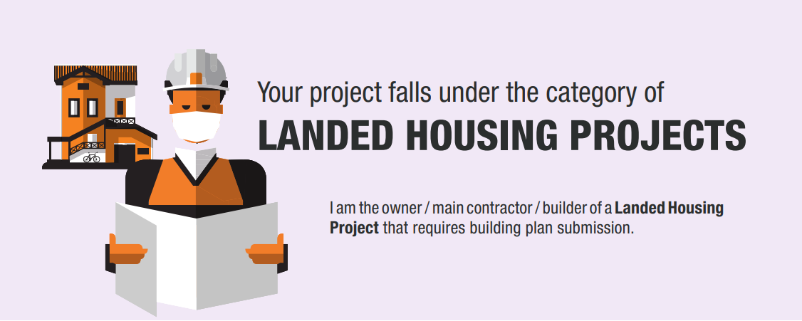 Apply for Restart of Landed Housing Projects