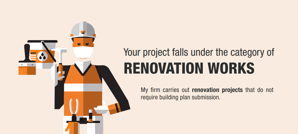 Apply for Restart of Renovation Projects