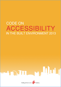 Code on Accessibility in the Built Environment 2013